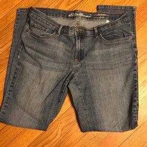Eddie Bauer boyfriend jeans size 8